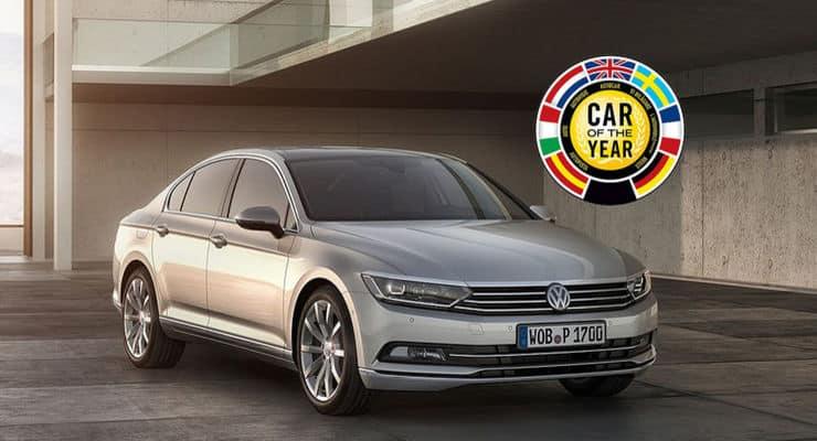 """Der Neue Passat Ist """"Car Of The Year 2015"""""""