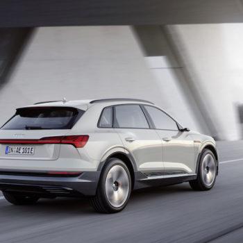 Audi E-tron Fahraufnahme