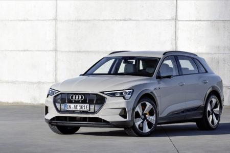 Audi E-tron Standaufnahme