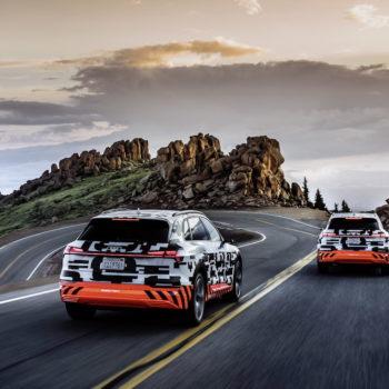 Der-Audi E-tron Prototyp Im Rekuperationstest Am Pikes Peak