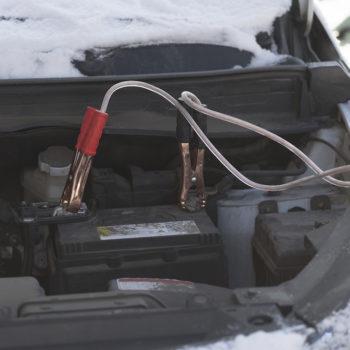 Clever Durch Den Winter Batterie Scheidweg Garage