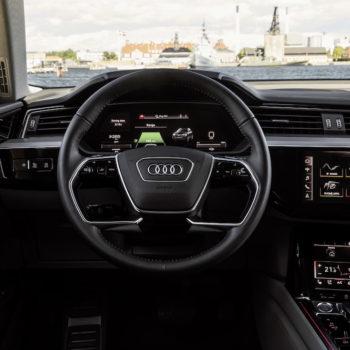 Interieur Prototyp Audi E-tron