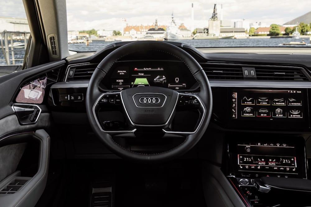 Interieur Prototyp Audi e-tron - Scheidweg Garage