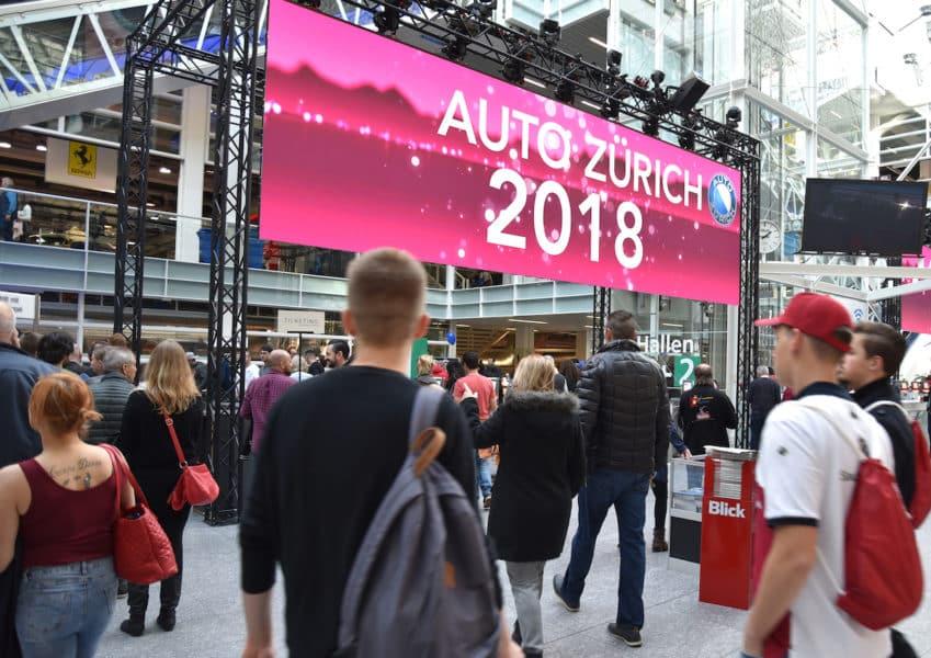 Pressebilder Auto Zürich 2018
