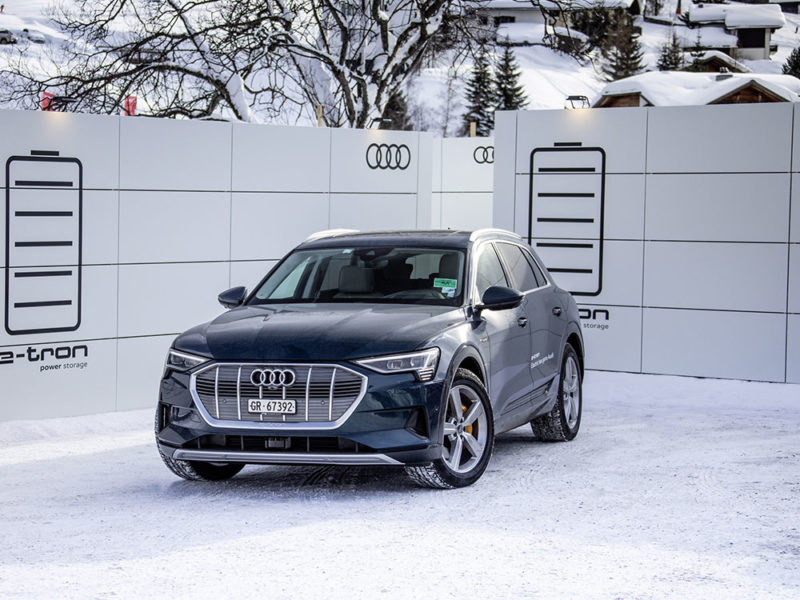 Elektrisierendes Weltwirtschaftsforum: Audi In Davos