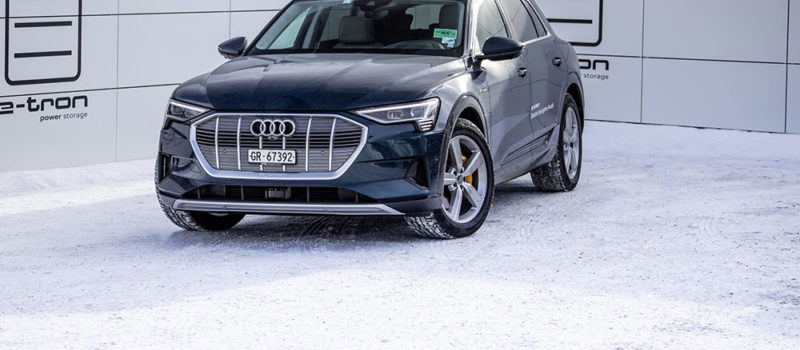 Audi E-tron Weltwirtschaftsforum Davos