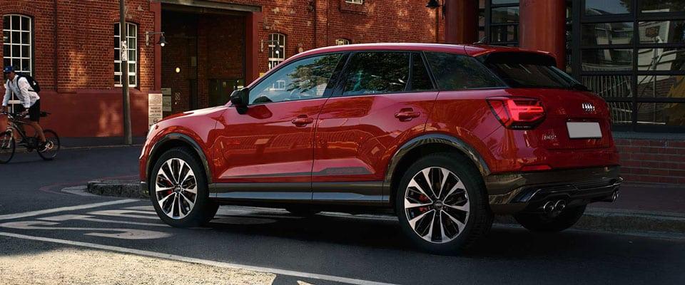 Audi SQ2 Scheidweg Garage