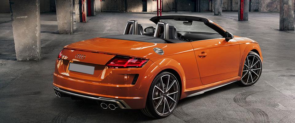 Audi TTS Roadster Scheidweg Garage
