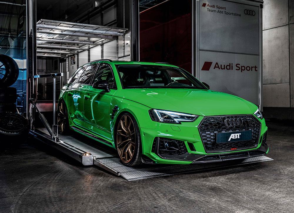 ABT Audi RS4 - ABT Stützpunkt Appenzell