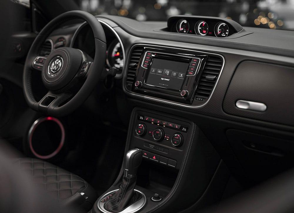 ABT VW Beetle Cockpit - ABT Stützpunkt Appenzell