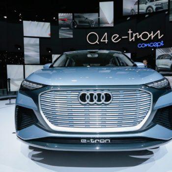 Audi Q4 E-tron Concept Autosalon Genf 2019
