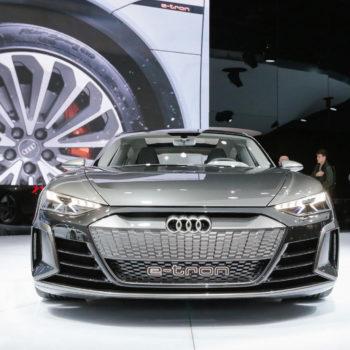 Audi E-tron GT Concept Autosalon Genf 2019