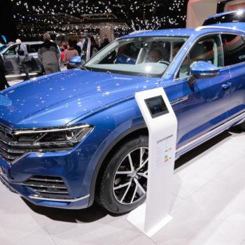 VW Touareg T8 TDI Autosalon Genf 2019