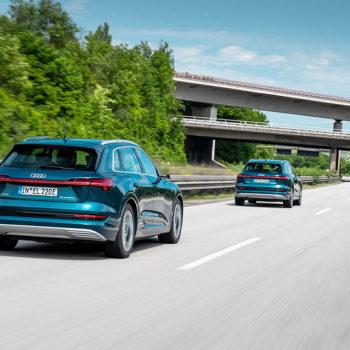 Audi E-tron Langstreckentest