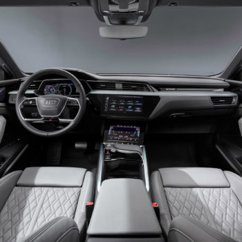 Audi E-tron Sportback 55 Quattro Cockpit