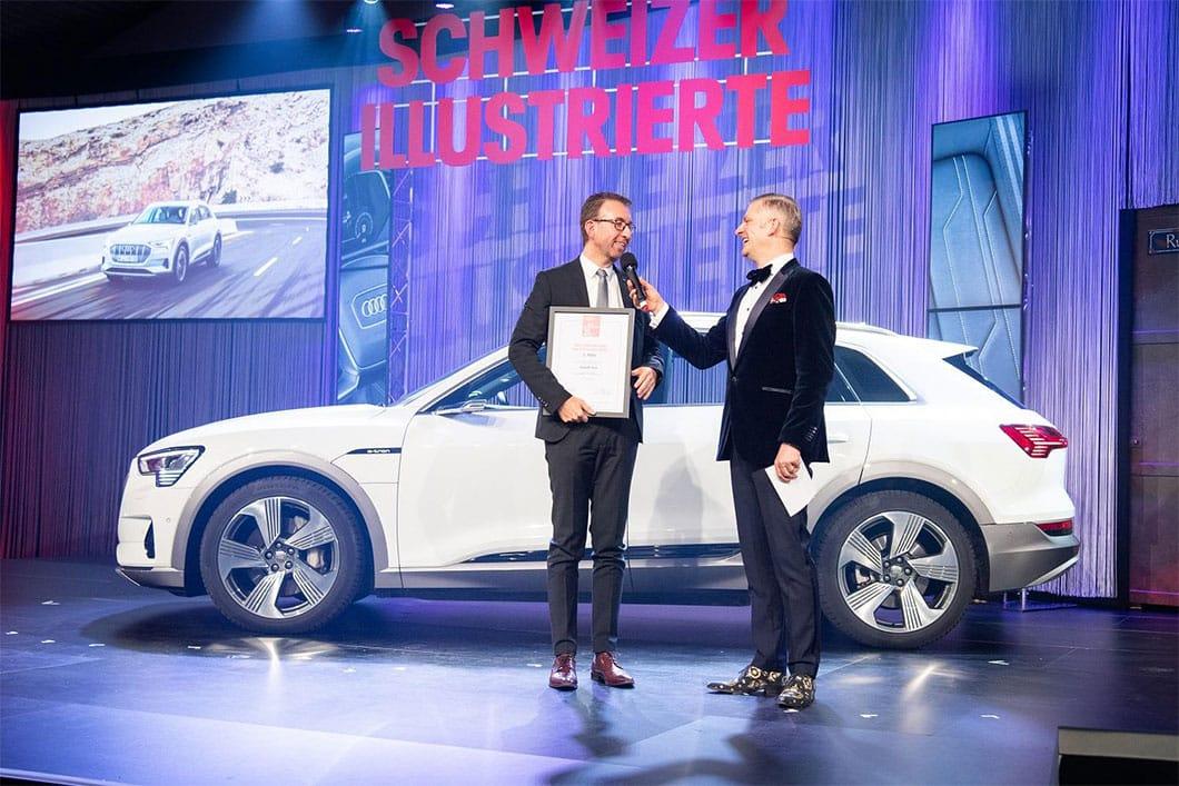 Lieblingsauto der Schweizer 2020 Audi e-tron