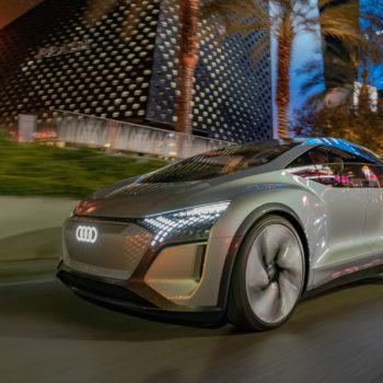 Audi CES 2020 Audi AI:ME Fahraufnahme