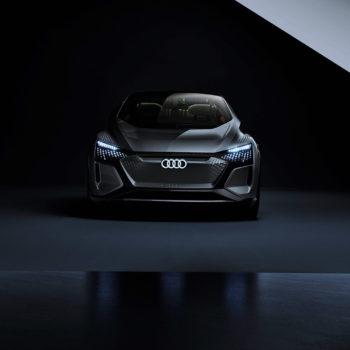 Audi CES 2020 Audi AI:ME Stadaufnahme