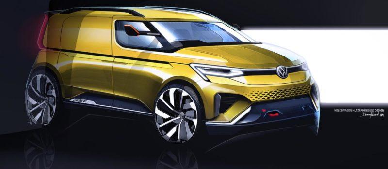 Der Neue Caddy 2020 Front