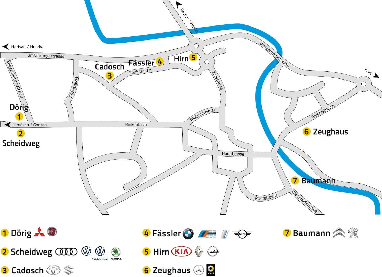 AutoImpuls 2020 Rundgang Scheidweg-Garage AG