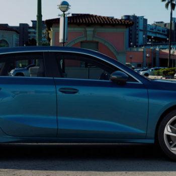 Der Neue Audi A3 Sportback | Atollblau Metallic
