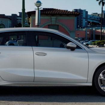 Der Neue Audi A3 Sportback | Gletscherweiss Metallic
