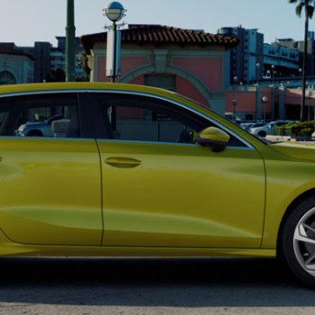 Der Neue Audi A3 Sportback | Pythongelb Metallic