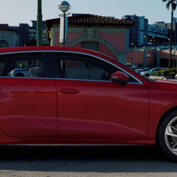 Der Neue Audi A3 Sportback | Tangorot Metallic